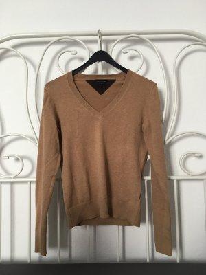Tommy Hilfiger Maglione di lana beige-marrone chiaro