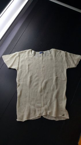 Tom Tailor Jersey de ganchillo crema