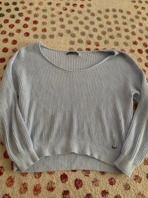 Abercrombie & Fitch Crewneck Sweater baby blue-light blue