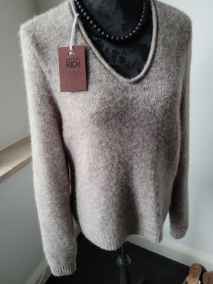Better Rich Knitted Sweater camel wool