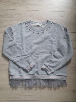 Molly bracken Maglione girocollo grigio chiaro-grigio