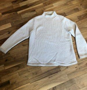 Repeat Maglione di lana bianco sporco