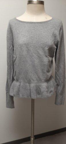 Taifun Maglione lavorato a maglia grigio chiaro