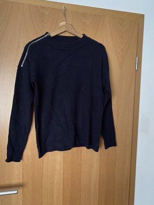 Vero Moda Long Sweater dark blue