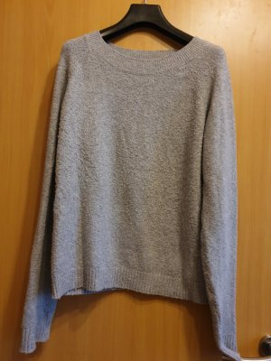 Vero Moda Jersey de lana gris claro