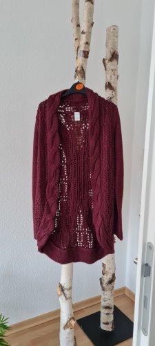 Vila Oversized Sweater purple