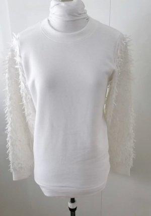 DKNY Maglione girocollo bianco