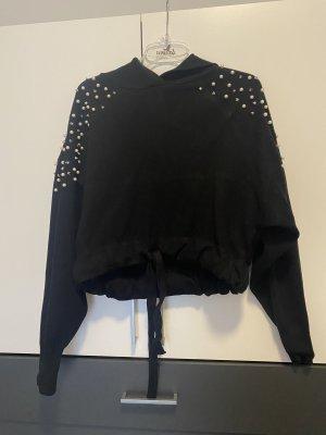 Zara Pull à capuche noir
