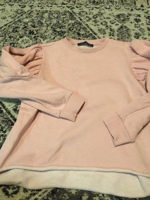 Zara Woman Lang shirt roze
