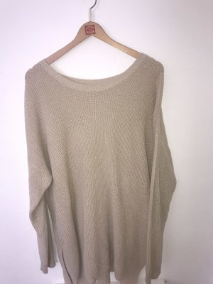 Sweater Dress cream