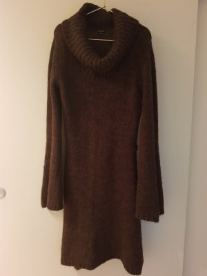 Calvin Klein Robe en laine brun
