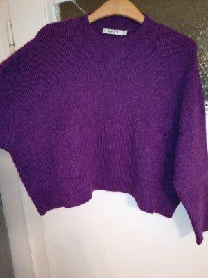 Nakd Oversized Sweater dark violet