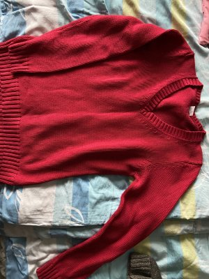 Cecilia Classics Wool Sweater brick red