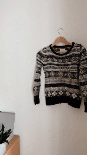 H&M Norwegian Sweater multicolored