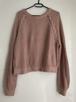 H&M Divided Knitted Sweater rose-gold-coloured