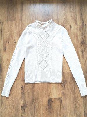 & other stories Wełniany sweter kremowy