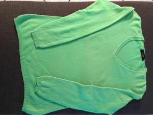 Bruno Manetti Cashmere Jumper lime yellow