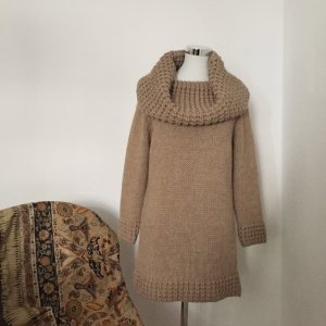 The Hackbarth's Coarse Knitted Sweater sand brown polyacrylic