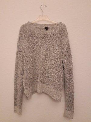 H&M Divided Pullover a maglia grossa grigio chiaro