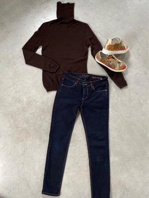 Strenesse Gabriele Strehle Turtleneck Sweater dark brown