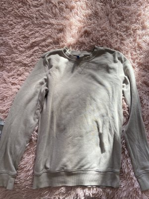 H&M Divided Fleece Jumper grey brown
