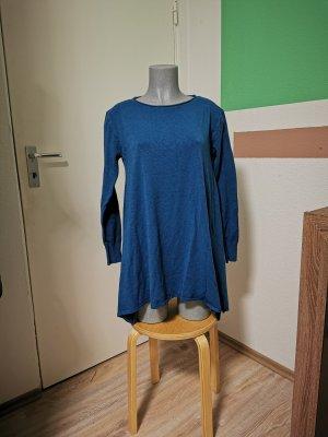 Vestido tipo jersey petróleo Viscosa