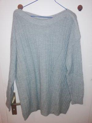 C&A Yessica Wełniany sweter szaro-zielony