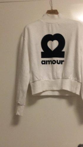 H&M Divided Sweter oversize biały