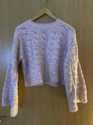 Topshop Pullover a maglia grossa rosa chiaro