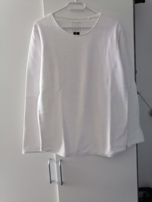 SMOG Crewneck Sweater white
