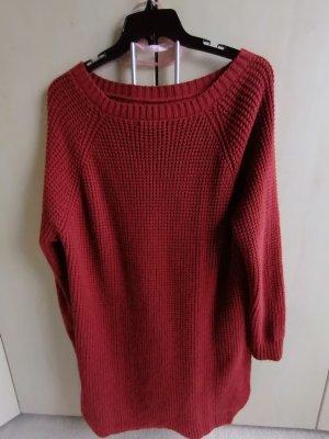 Mango collection Sweater Dress russet