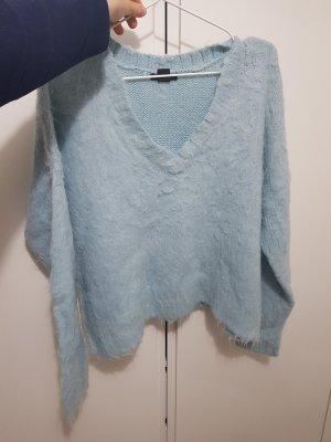 H&M Maglione di lana blu pallido-azzurro