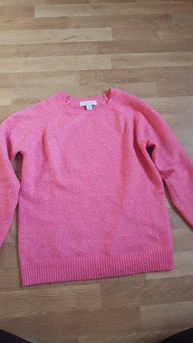 Amisu Kraagloze sweater roze