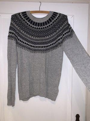 H&M Sudadera navideña negro-gris