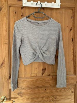 Sheinside Oversized Sweater light grey