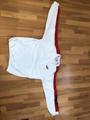 Puma Długi sweter biały-czerwony