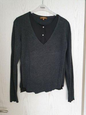 conbipel Fine Knit Jumper black-anthracite