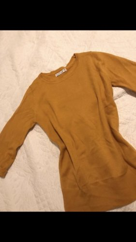 Gebreid shirt goud Oranje
