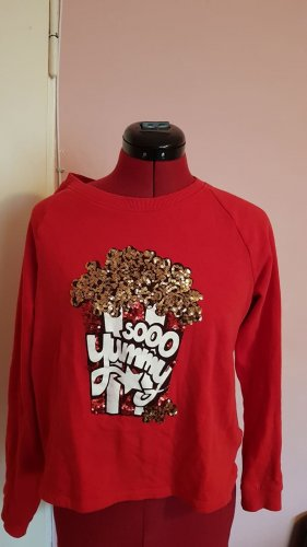 Sweater Twin Set red