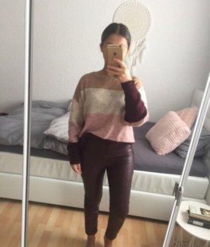 Sweter oversize Wielokolorowy