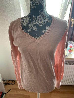 Colors of the world V-Neck Sweater pink