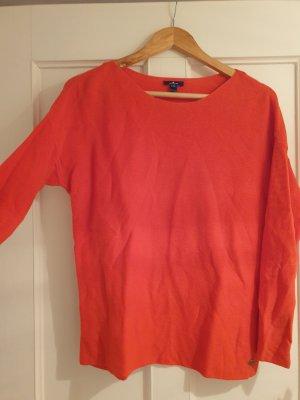 Tom Tailor Kraagloze sweater rood