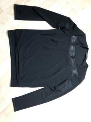 Beate Heymann Streetcouture Kraagloze sweater zwart