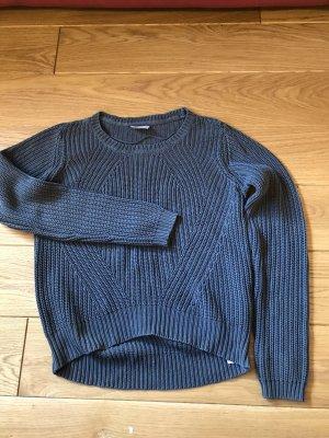 Vero Moda Sweter z grubej dzianiny antracyt