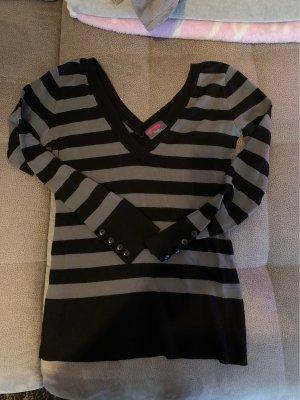 Pimkie Jersey largo negro-gris