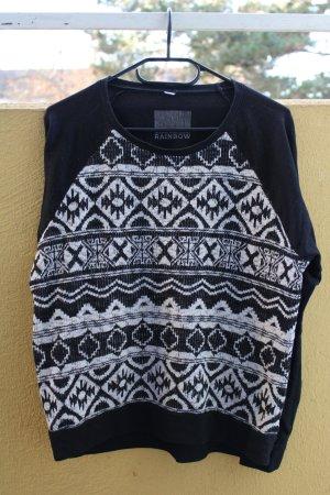Bon Prix Sweter z okrągłym dekoltem czarny