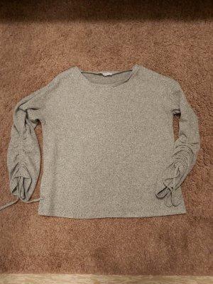 Promod Polarowy sweter jasnoszary