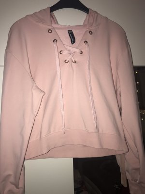 Blind Date Capuchon sweater rosé