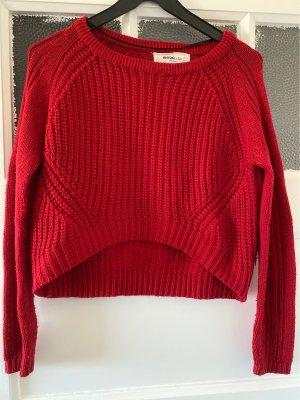 Vero Moda Pullover a maglia grossa rosso