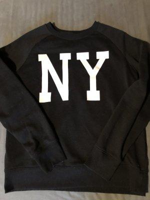 Cedarwood State Crewneck Sweater black-white